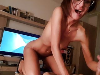 She loves to ride and suck cum