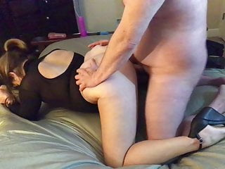 Hotwife talks about fucking other cock in front of her cuck